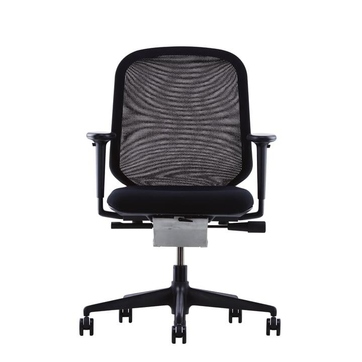 Vitra MedaPal, black, armrests