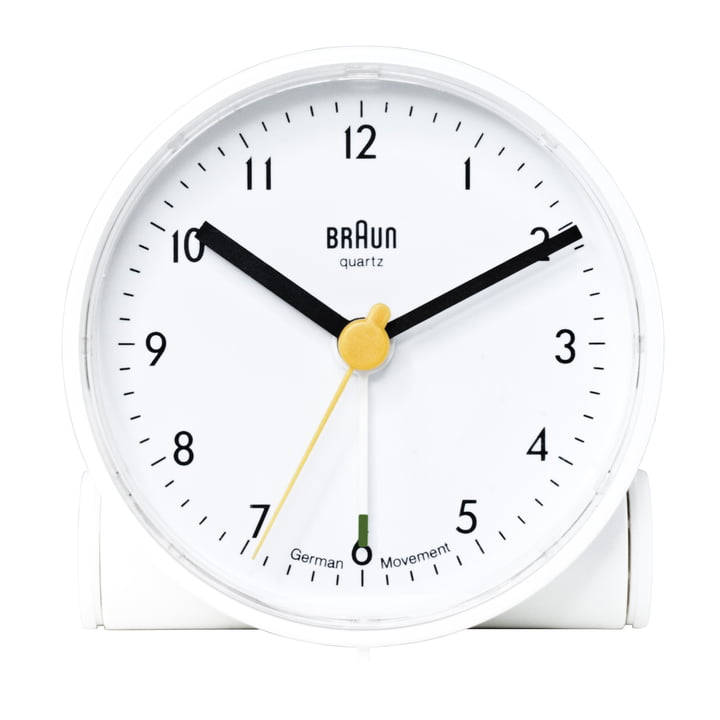 Braun Alarm Clock BNC001 (AB5), white