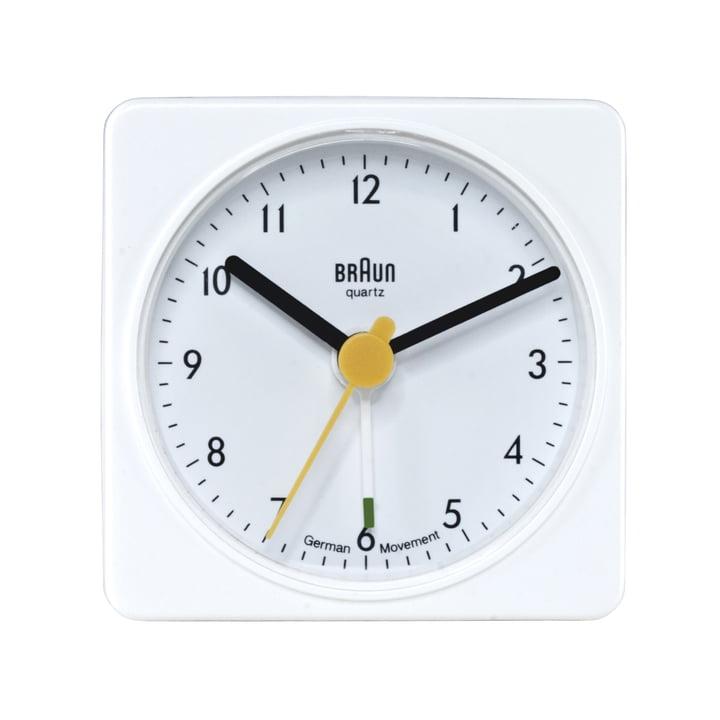Braun Travelling Alarm Clock BNC002 (AB1), white