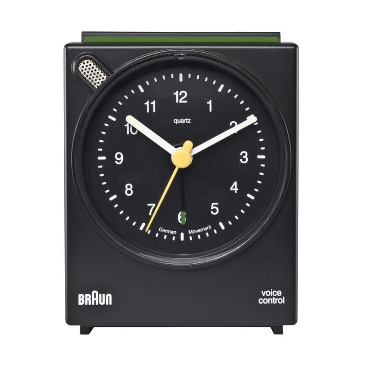 Braun Voice Activated Alarm Clock BNC004, black