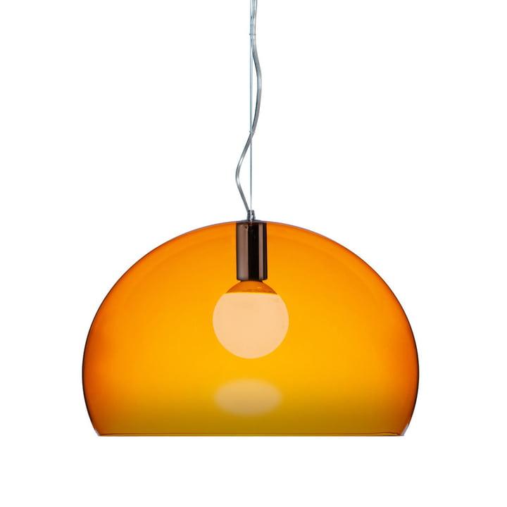 Kartell FL/Y Pendant Lamp, orange