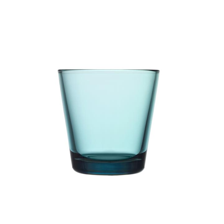 Iittala - Kartio Drinking glass 21 cl, sea blue