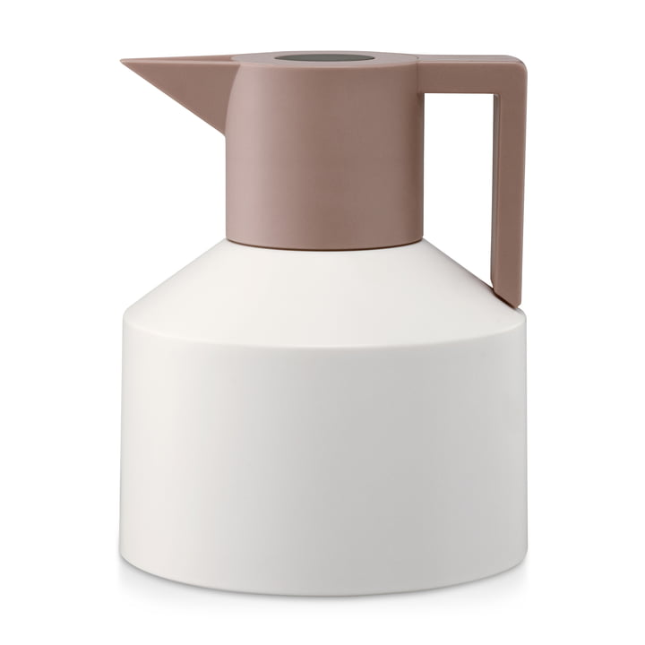 Normann Copenhagen - Geo thermos flask, white