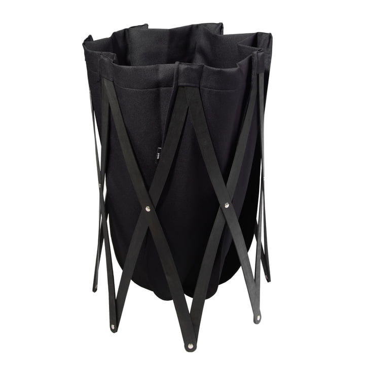Marie Pi Laundry basket from Klein & More in black / black