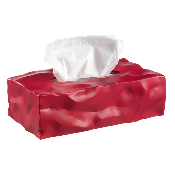 Essey - Wipy 2-Cube tissue box, red
