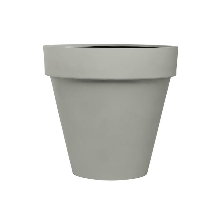 The m it de m edge plant pot from a m ei, M , grey