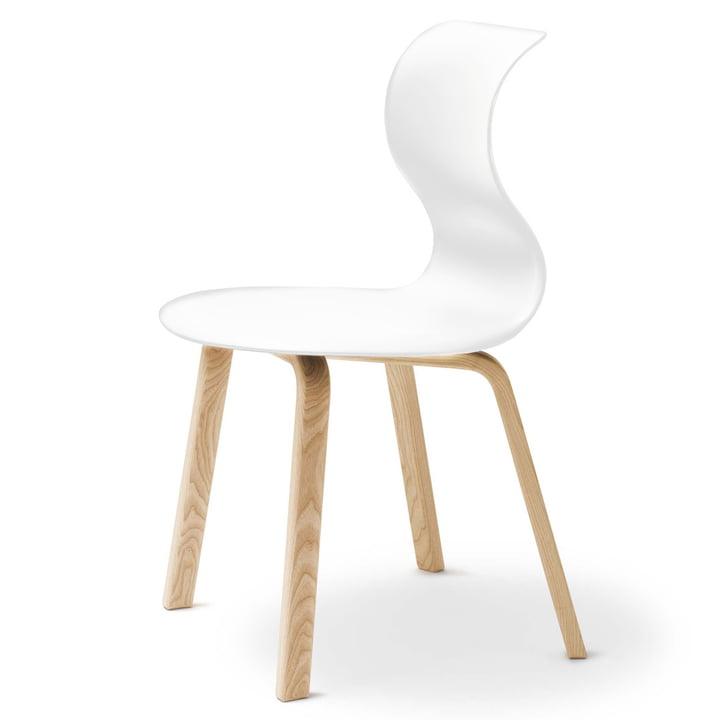 Flötotto - Pro 6 four-legged-wooden frame, white