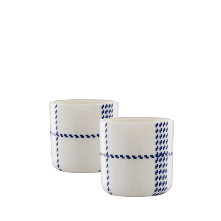 Normann Copenhagen - Mormor Blue Egg Cup, set of 2