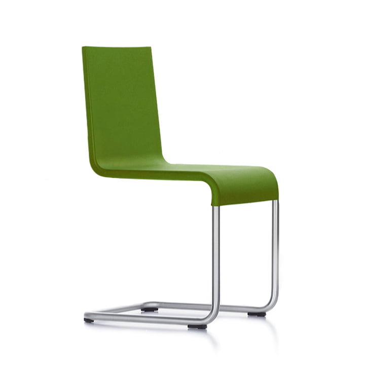 Vitra - 05 chair avocado, plastic glides
