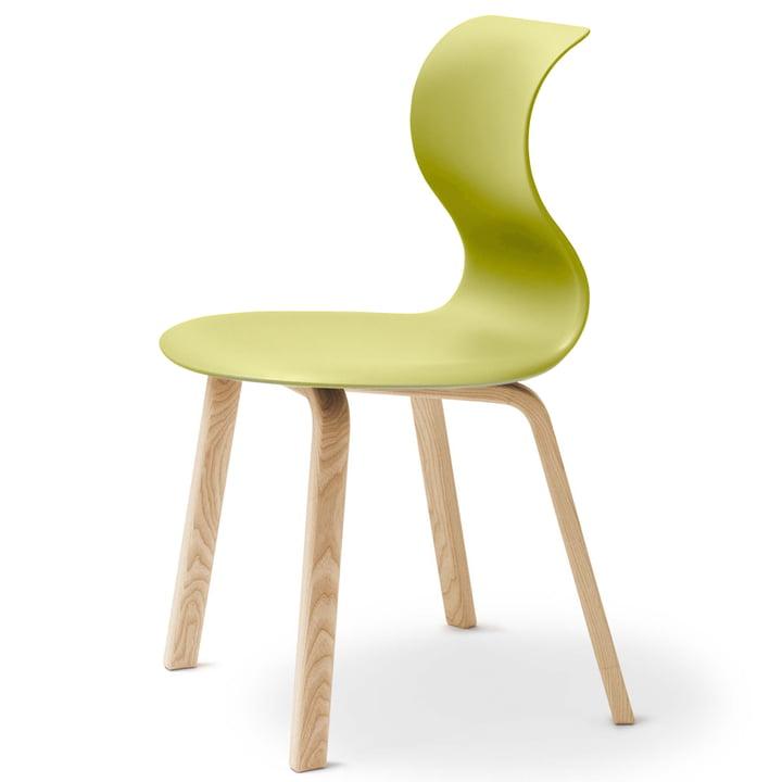 Kategorie: Flötotto - Pro 6 Stuhl, Vierbeinholzgestell, Kiwigree
