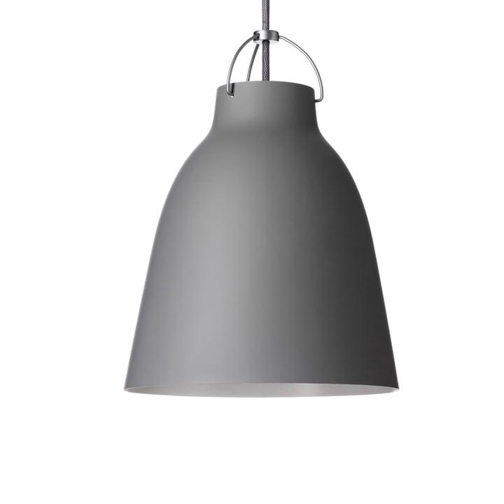 Fritz Hansen - Caravaggio P2 pendant lamp matt, dark grey (45)