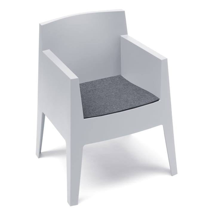 Hey Sign - Felt cushion Driade Toy chair, anthracite 5mm AR