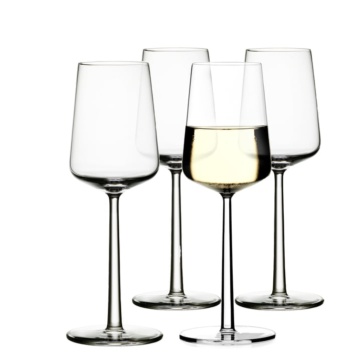 Iittala - Essence 4er-Set, white wine