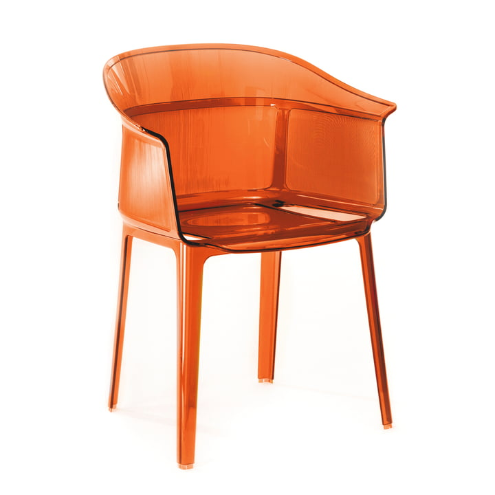 Kartell - Papyrus chair, red-orange