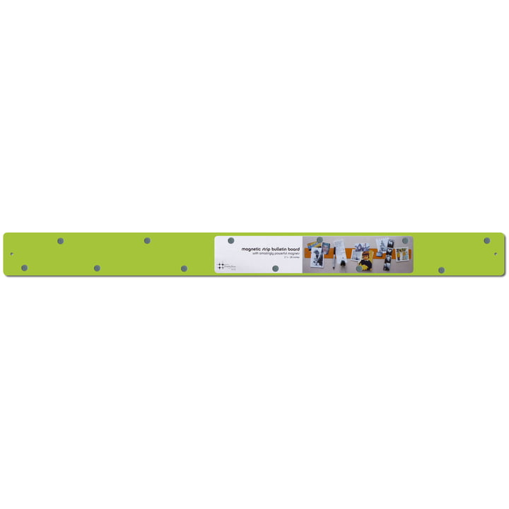 ThreeByThree - magnetic stripe 70 x 6 cm, lime