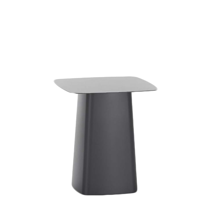 Vitra - Metal Side Table outdoor, small, black