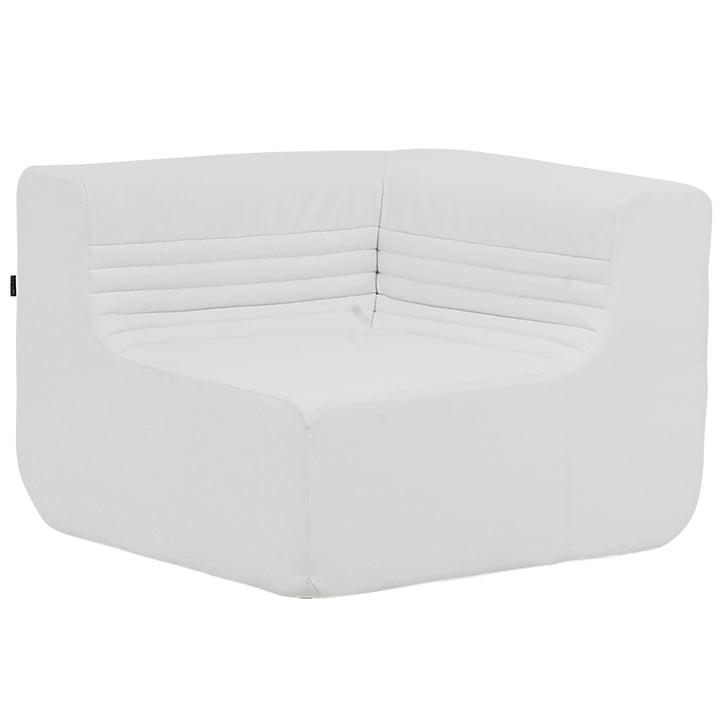 Softline - Loft outdoor modular sofa, corner unit, speed, white