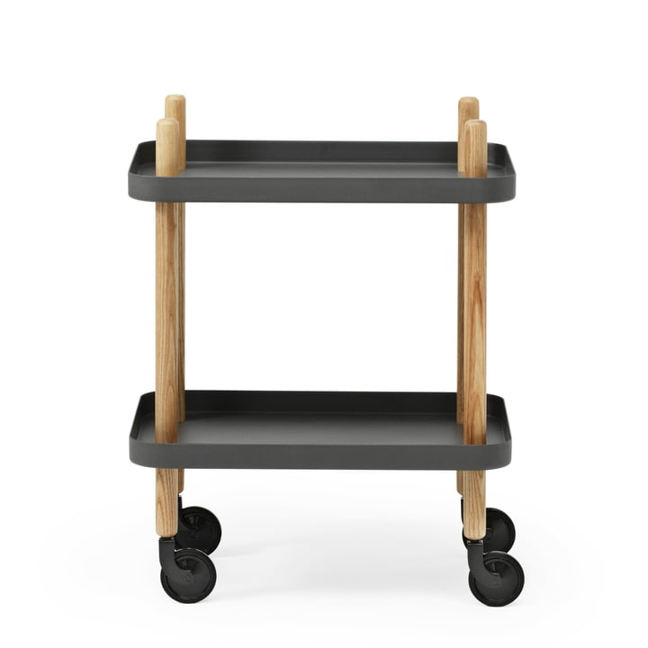 Block side car from Normann Copenhagen in ash / dark grey