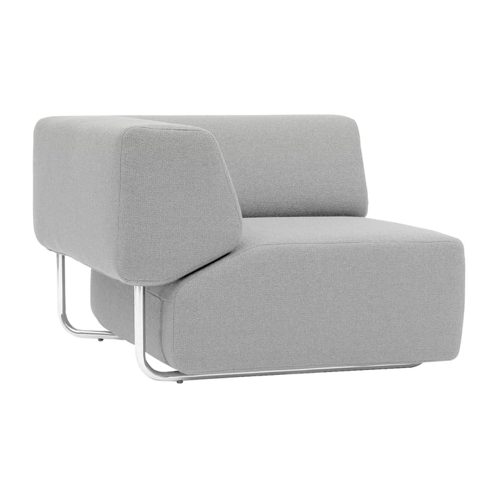 Softline - Noa modular sofa, corner unit, vision, light grey