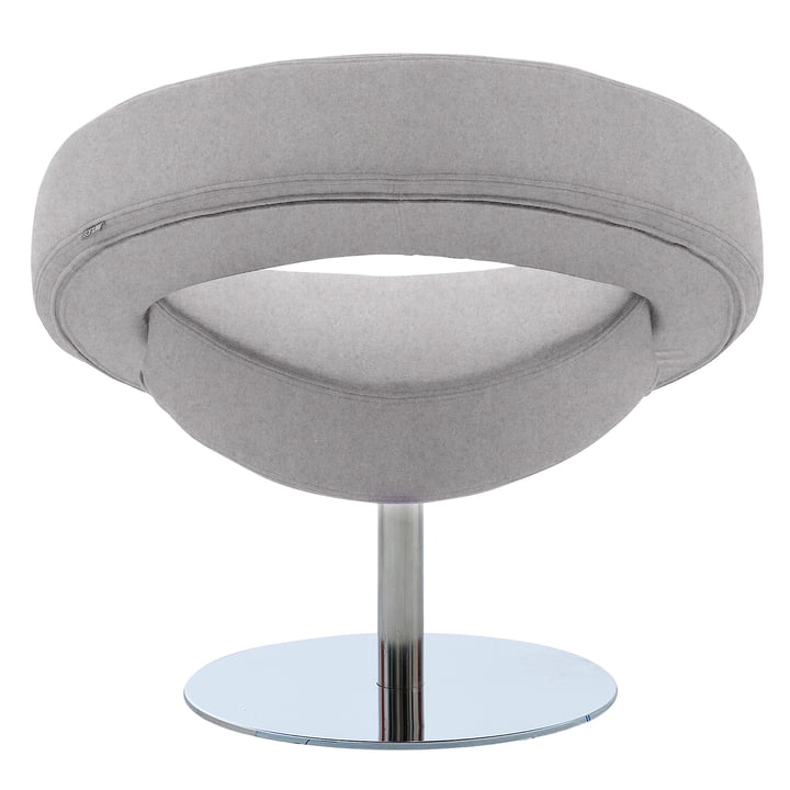 Softline - Hello swivel chair, felt grey (620)