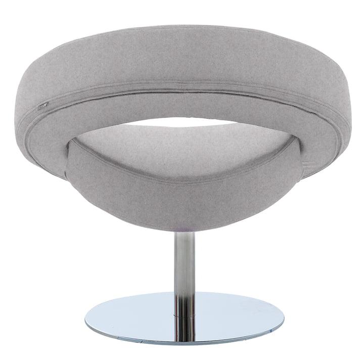 Softline - Hello swivel chair, felt grey (620)