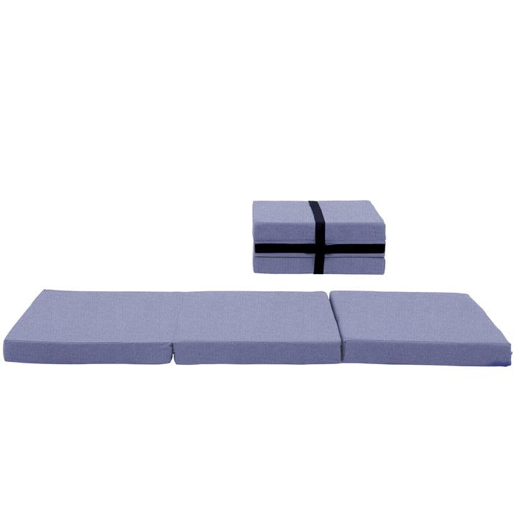 Softline - Mobile phone case mattress, gray-blue vision (441)
