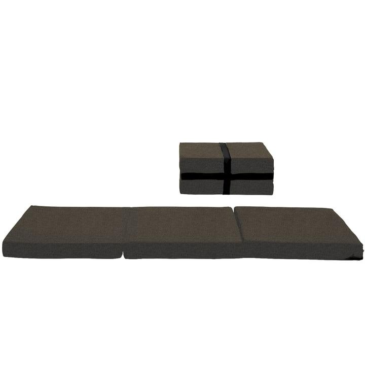 Softline - Handy case mattress, Vision black - brown (443)