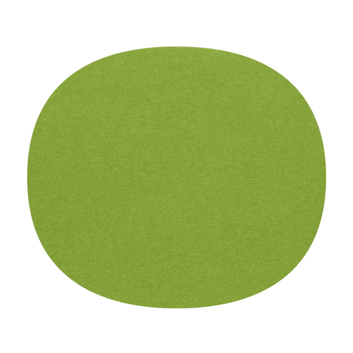 Hey Sign - felt seat Eames Plastic Side Chair, may green 5mm