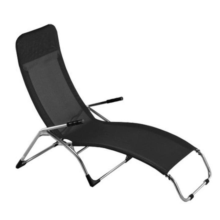 Fiam Deck Chair Samba, black
