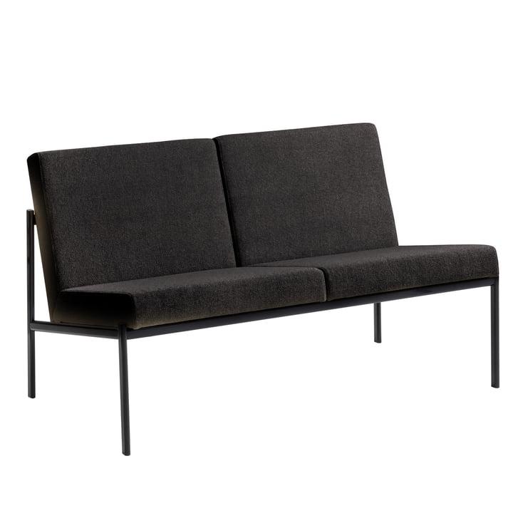 Artek - Kiki Sofa 2-seater (Hannlingdal 65 anthracite)