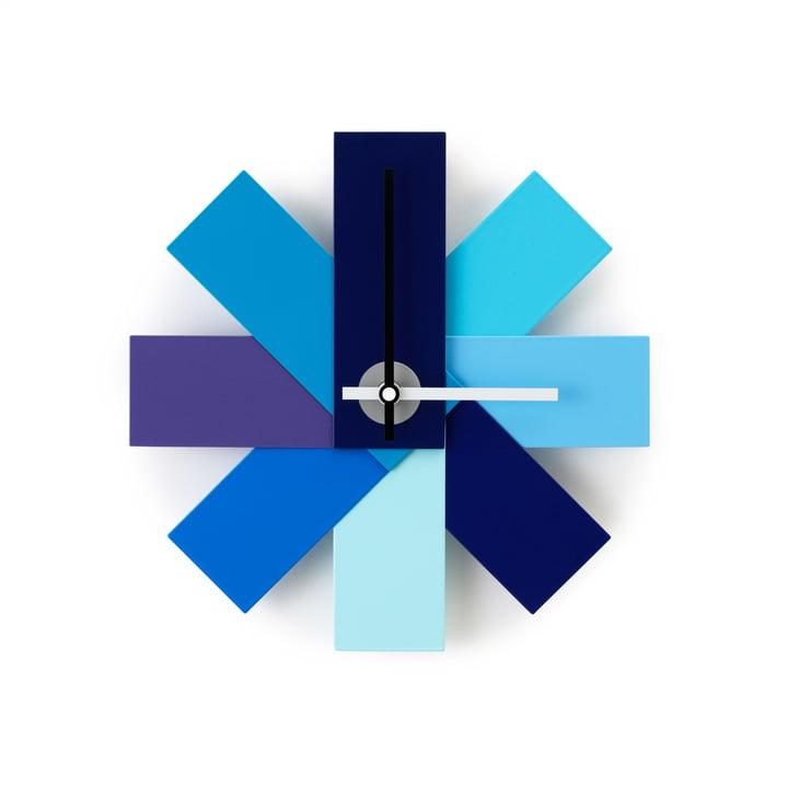 Normann Copenhagen - Watch me wall clock, blue