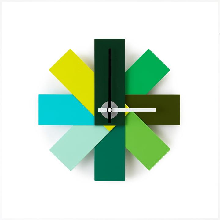 Normann Copenhagen - Watch me wall clock, green