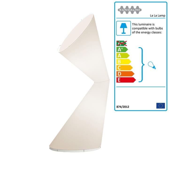 Kundalini - La La Lamp, white