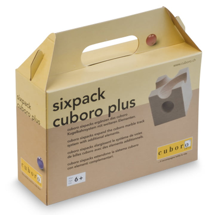 cuboro - sixpack supplement box plus - packaging