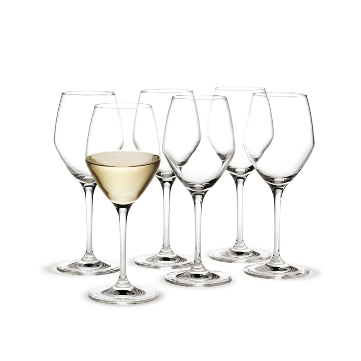 Holmegaard - Perfection White Wine Glass, 32cl, set of 6