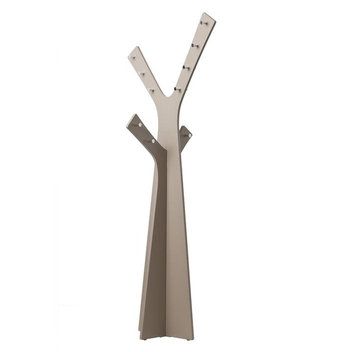 Cascando - Tree Stand Wardrobe, grey