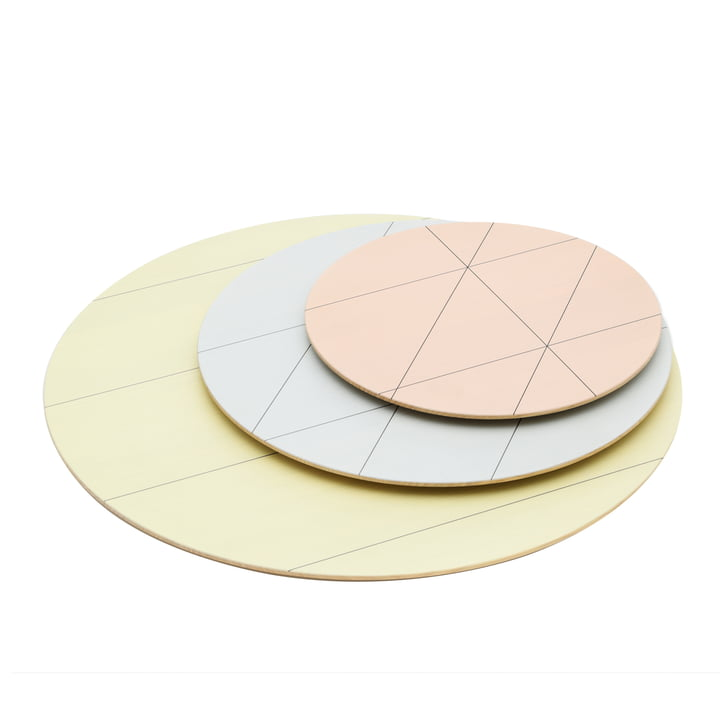 Karimoku - Colour Platter (3er-Set), sun