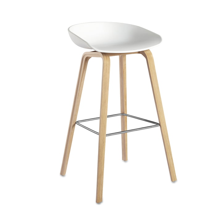 Hay - About A Stool AAS 32, oak (soaped) / white H76