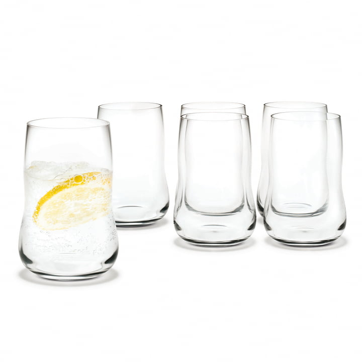 Holmegaard - Future glasses 25cl, clear - 6 pcs. pack