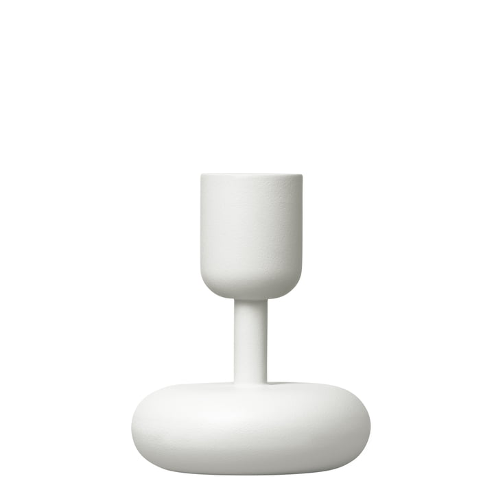 Iittala - Nappula Candleholder, white, 107mm