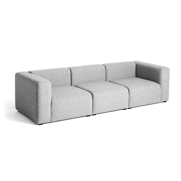 Hay - Mags Sofa, 3-Sitzer, light grey