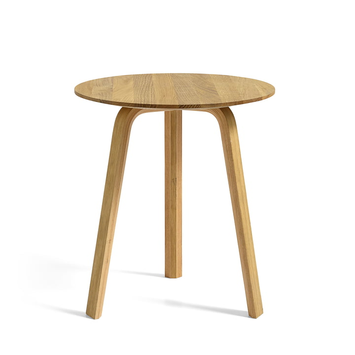 Bella Side table Ø 45 cm / H 49 cm from Hay in oak oiled