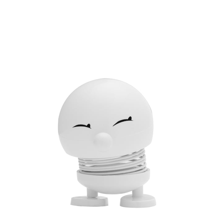Hoptimist - Baby Bimble, white - front