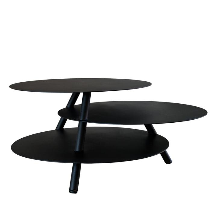 Pulpo - Big Trio side table, black