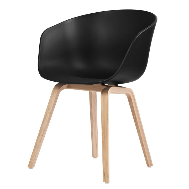 About A Chair AAC 22 from Hay in oak soaped / black