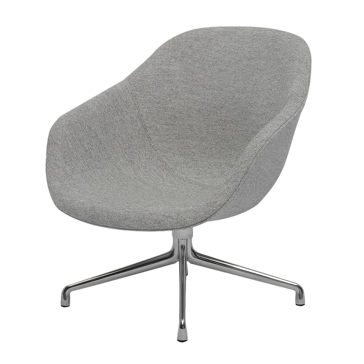 Hay - About A Lounge Chair, Low / AAL 81, Remix light grey (123)
