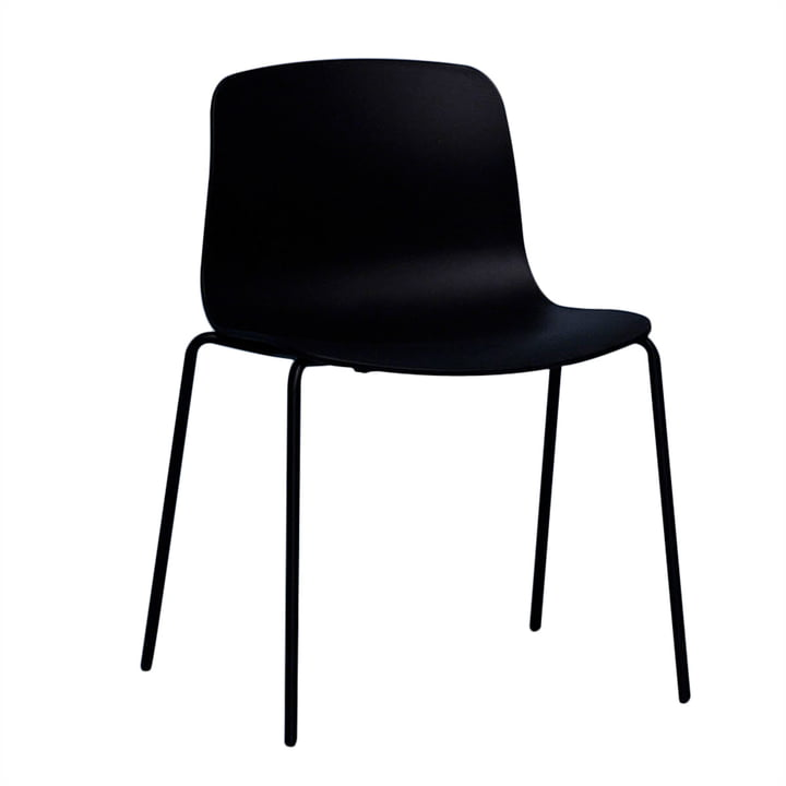 Hay - About A Chair AAC 16, Aluminium black / black
