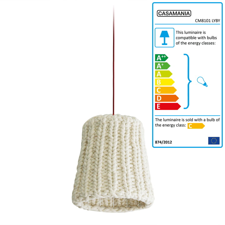 Casamania - Granny Pendant Lamp large, white