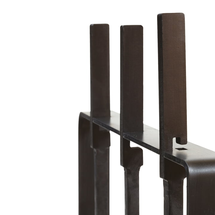 "artepuro - Chimney tools ""helping hands"" - Detail, handles"