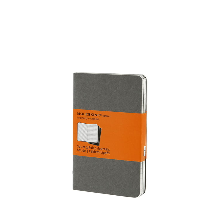 Moleskine - Cahier Notizheft, lined, pocket